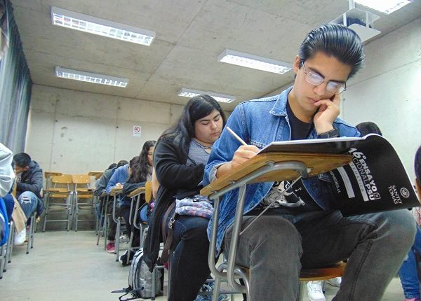 Estudiantes limarinos rindieron Ensayo Nacional PSU