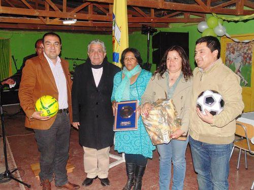 Club Deportivo San Rafael de Los Nogales celebró sus 46 años de vida