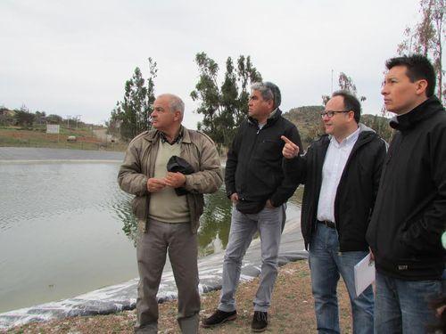Regantes valoran resultados de convenio entre la CNR y el Gobierno Regional
