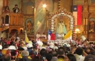 Se inició Novena para Fiesta Chica de la Virgen de Andacollo