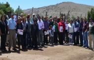 Comuneros de El Durazno regularizan terrenos y reciben 61 Goces Singulares