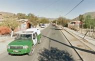 "Lo pillaron ""chanchito"" aserrando señalética de calle principal de Punitaqui"