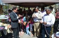 Vecinos de Villa Ambrosio O'Higgins de Combarbalá inauguraron su nueva plaza pública