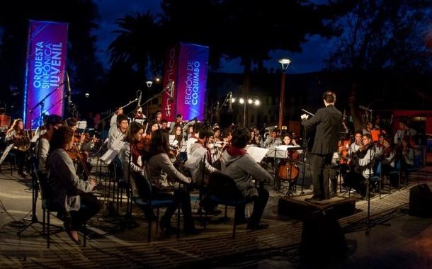 Orquesta Sinfónica Juvenil se presenta en Punitaqui