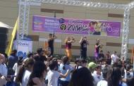 Más de 700 personas participaron en la Tercera Maraton de Zumba en Ovalle