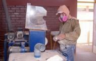 El 40% de los artesanos en piedra combarbalita  podría desarrollar silicosis