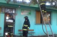 Voraz incendio destruye parcialmente Centro  de Salud Mental de Ovalle
