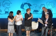 """Quino, """"padre"""" de Mafalda, recibe la Orden al Mérito Artístico y Cultural Pablo Neruda"""