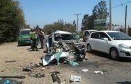 Preocupación por sacerdotes ovallinos lesionados en colisión de automóvil en ruta D- 43