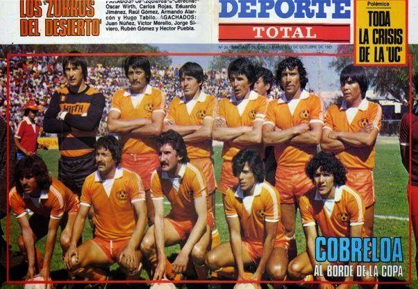 Resultado de imagen para 1981 Cobreloa