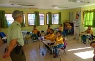 Carabineros visitó escuela rural de Mantos de Hornillo
