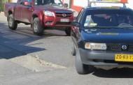 """Peligroso """"evento"""" en el pavimento preocupa a automovilistas"""