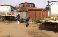 Con limpieza de fosas previenen emanaciones de gas en localidad de Santa Cristina