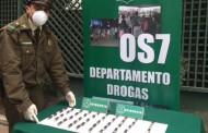 Carabineros detiene a dos mujeres de nacionalidad boliviana que trasladaban 111 ovoides de cocaína al interior de su cuerpo