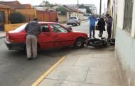 Motorista se salva por milagro tras colisionar automóvil