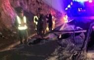 Accidente se registra en camino a Chalinga