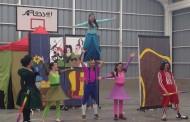 Miles de niños de la región participan de actividades recreativas y culturales