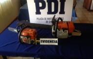 PDI recupera motosierras robadas en la municipalidad de Ovalle