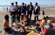 Autoridades destacan seguridad en playas de la Región de Coquimbo