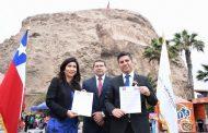 Intendente Ibáñez firma acuerdo de cooperación por escasez hídrica con Arica y Parinacota