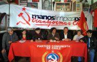 Partido Comunista presenta oficialmente candidatos para el Concejo Comunal