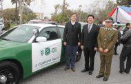 Carabineros de la provincia de Limarí reciben cuatro vehículos de última generación