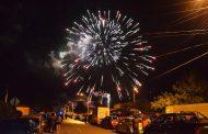 Con gran espectáculo pirotécnico Ovalle dio la bienvenida al 2017