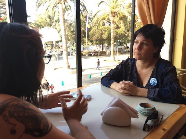 """Javiera Parada: """"Existe una fuerza política y social que tiene que articularse para poder lograr cambios"""""""