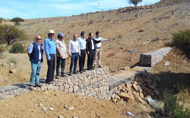 Agricultor de Combarbalá contará con una inyección hídrica para potenciar su trabajo