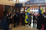 Sorprenden a estudiantes con especial recepción en el Día del Alumno