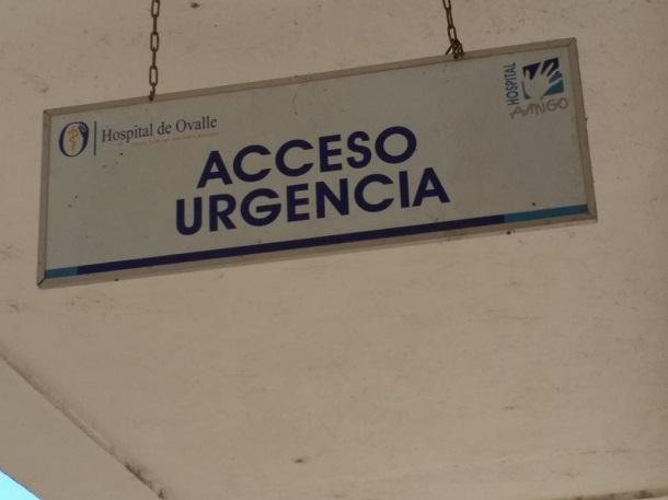 FotoNoticia: ¿Usted sabe cómo ingresar a Urgencia en el Nuevo Hospital de Ovalle?