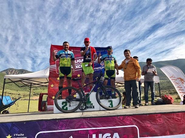 Club Rodabike obtiene podio en fecha nacional de ciclismo de montaña