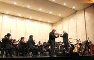 Ovallinos disfrutaron de concierto de la Orquesta Sinfónica Universidad de La Serena