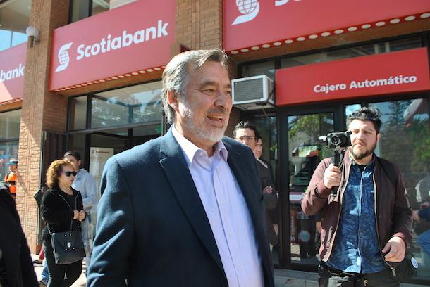 Alejandro Guillier visita Ovalle en marco de su campaña presidencial