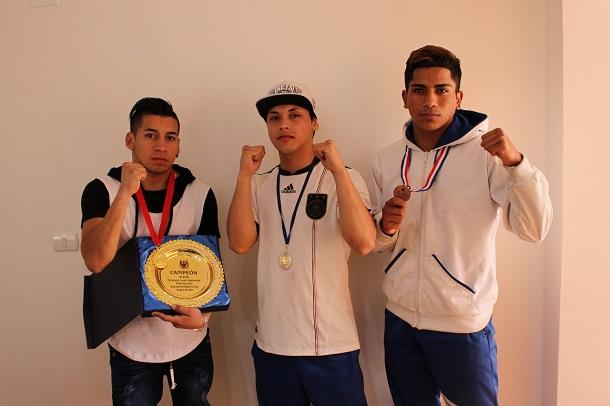 Ovallinos logran títulos en campeonato internacional de boxeo