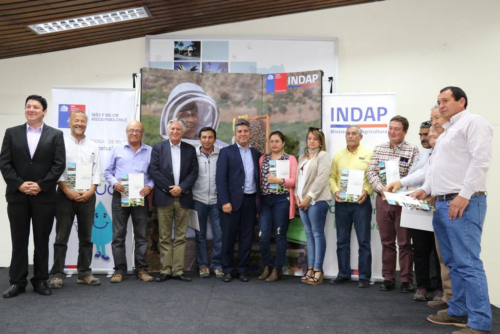 Familias campesinas rurales de la región reciben millonario aporte