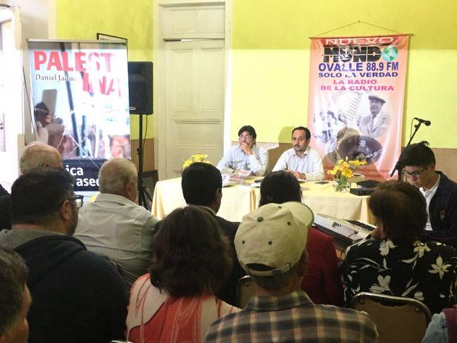 Alcalde de Recoleta presentó en Ovalle su libro