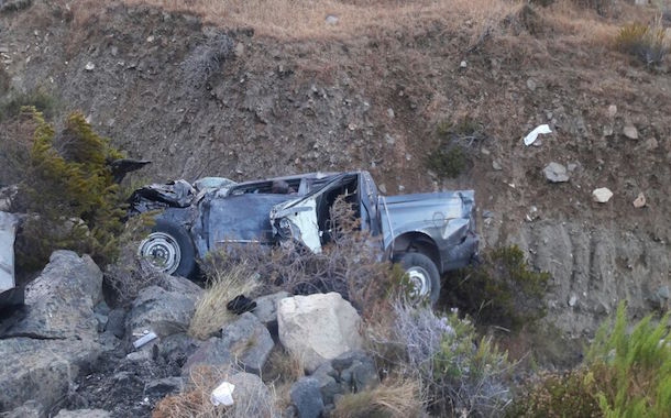 Un muerto tras accidente de tránsito en la Cuesta El Teniente