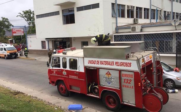 Intento de suicidio provoca evacuación del Servicio de Urgencia del Hospital de Ovalle