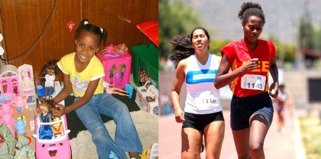 El nexo de amor de Berdine Castillo, nueva campeona nacional de atletismo, con Ovalle