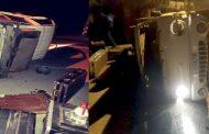Se recuperan lesionados en accidente de conocido grupo musical ovallino