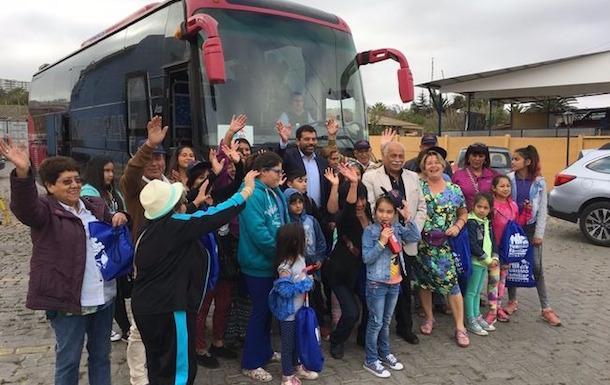 Familias serenenses disfrutarán de las bondades de la comuna de Combarbalá