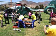 Choapa: Rescatan a joven criancero que sufrió caída en cordillera de Illapel