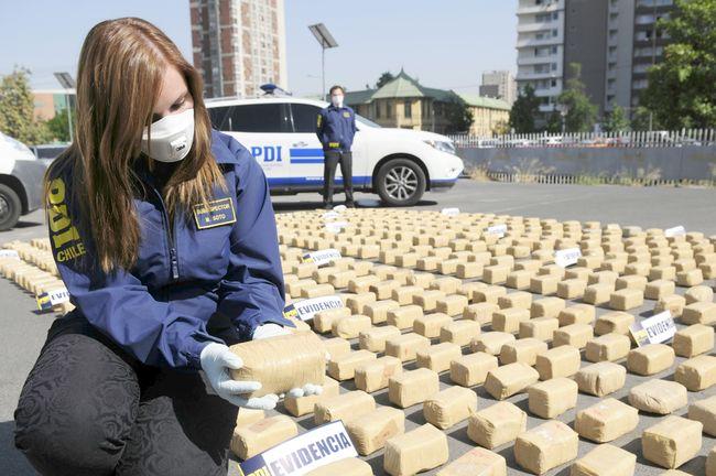 Mayor cargamento de droga incautado en la historia del país tenía como destino Ovalle