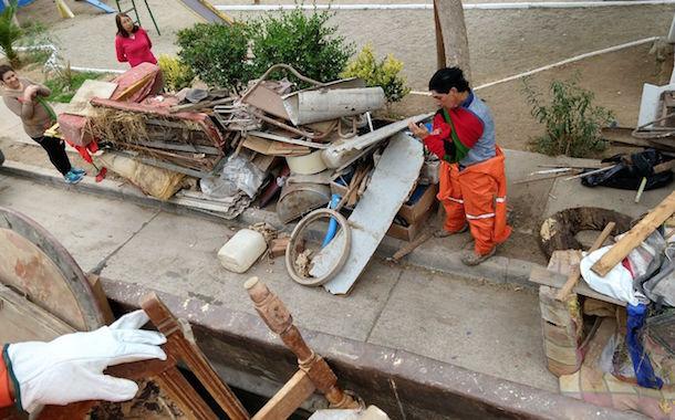 Retiran basura histórica desde cuatro sectores de Punitaqui