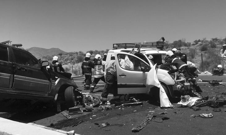 Identifican a fallecido por violento accidente en ruta D-43
