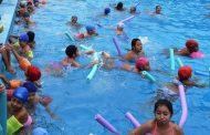 132 niños aprobaron el curso de natación en Ovalle