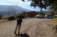 Investigan muerte de un hombre en Monte Patria encontrado herido en camino rural