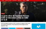 Prensa nacional se rinde ante la campaña de DT ovallino Gustavo Huerta