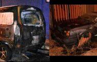 Ovalle: Dos autos incendiados en la misma noche